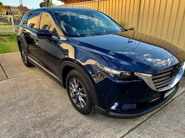 Mazda Car Paint Protection